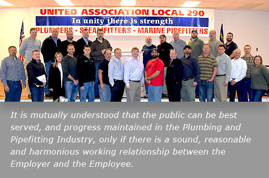UA Local 290 | Serving Oregon, SE Washington & Northern